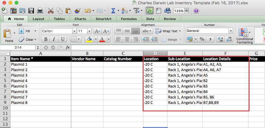 Import Freezer Samples to Quartzy interactive freezer boxes via ...